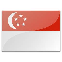 Флаг сингапура сингапурский флаг