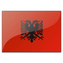 Албании государственный флаг албании