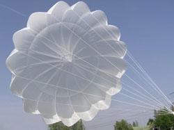 Интересное применение запасного парашюта